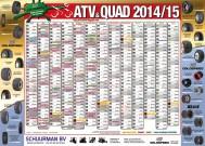 ATV&QUAD Magazin 2014/03-04, Mittelaufschlag: Kalenderposter, Seite 1