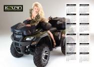 ATV&QUAD Magazin 2014/03-04, Mittelaufschlag: Kalenderposter, Seite 2