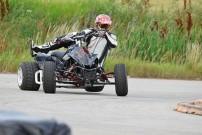 1. Lauf der SuperMoto Austria 2014 am 26. und 27. April: im PS Racing Center in Greinbach: Quad-Action von Martin Tauber