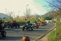 Anlassen am Nürburgring 2014 am 13. April: Im Konvoi mit 200 ATVs und Quads auf das große Biker-Treffen