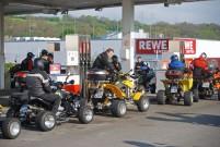 Anlassen am Nürburgring 2014 am 13. April: Aufbruch in Bad Münstereifel