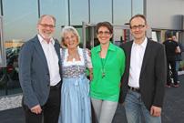 Generationswechsel: Aus Team Rösner wird MotoBike Winkelmayer. Gerhard Rösner und Hanna, Petra und Peter Winkelmayer