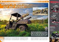ATV&QUAD Magazin 2014/05-06, Seite 60-61; Service, Jagd & Forst: Helfer im Wald und auf der Pirsch