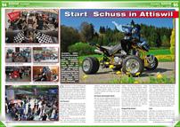 ATV&QUAD Magazin 2014/05-06, Seite 94-95, Szene Schweiz; SL Motorbike / Motax: Start Schuss in Attiswil