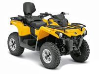 Can-Am Modelle 2015: neue Einstiegs-ATVs Outlander L 450 und L 500 mit langen und kurzen Radständen