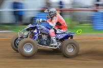 DMX Deutsche MotoCross Quad Meisterschaft 2014, 2. Lauf in Wriezen: Denise Willmann; Foto: Natan Prokes