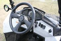 Polaris Sportsman ACE: ATV mit Lenkrad, Pedalen und spartanischem Cockpit