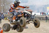 DMX Deutsche MotoCross Quad Meisterschaft 2014, 4. DMX Lauf 2014 in Rostock Prisannewitz: Zweiter Laufrang für Manfred Zienecker