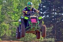 2. GCC Lauf 2014 in Triptis am 24./25. Mai, Klasse XC ATV: Jürgen Gröpl fällt mit technischem Defekt aus