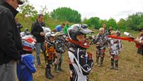 2. BQC Lauf 2014 in Dieskau: Fahrerbesprechung für die Kids- und Youngster-Klasse