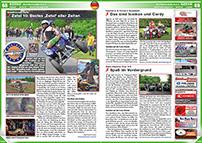 ATV&QUAD Magazin 2014/07-08, Seite 68-69, Szene Deutschland PLZ 2; Quadfreunde Zetel, Zetel 10: Bestes 'Zetel' aller Zeiten; Iceman´s & Cordy´s Quadwelt: Das sind Iceman und Cordy; Oste-Hamme Tour 3.0: Spaß im Vordergrund