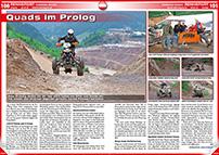 ATV&QUAD Magazin 2014/07-08, Seite 100-101, Rennsport; Erzberg Rodeo: Quads im Prolog