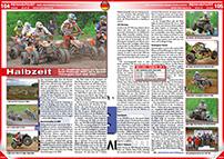 ATV&QUAD Magazin 2014/07-08, Seite 104-105, Rennsport; BQC Bavarian Quad Challenge: Halbzeit