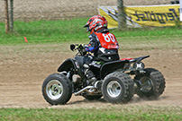 3. Quad Challenge Lauf 2014 in Angenrod am 19. und 20. Juli, Klasse 6: Marlon Dreier auf Siegesfahrt