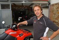Reinhold Harsch von RNH-Quads in Gießen: ist begeistert vom Leistungszuwachs mit Dr Pulley Variomatik Tuning