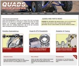 Online Shop: Quads and Parts