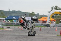 SuperMoto Austria Finale 2014 in Melk: Crash Joachim Traun 2/9