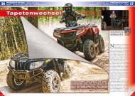 ATV&QUAD Special 2015 Ausrüstung • Zubehör • Tuning, Seite 26-31, Präsentation Arctic Cat Modelle 2015: Tapetenwechsel