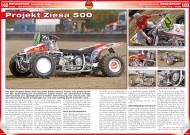 ATV&QUAD Special 2015 Ausrüstung • Zubehör • Tuning, Seite 102-104, Rennsport; Bahnsport-Quad: Projekt Ziesa 500
