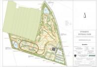 Dynamite Tours: Grundriss für den 9 Hektar Offroad Park