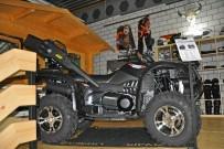 Quad Country Ausstellung 2015: CF Moto CF500A als Umbau mit Jagdausrüstung