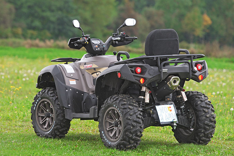 tgb blade 1000 lt v twin die volks tausender atv quad magazin. Black Bedroom Furniture Sets. Home Design Ideas