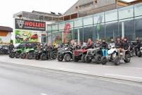 Arctic Cat Händler Holleis in Maishofen: startet zur 9. Quadomania, der traditionellen Quadtour auf den Großglockner, am 11. Juli 2015