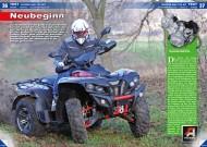 ATV&QUAD Magazin 2015/01-02, Seite 36-41, Test Access AMX 750 EFI: Neubeginn
