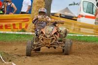 Quad Rennfahrer Martin Bach: zum Quadfahren durch seine Kumpels gekommen