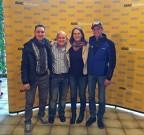 Sportfahrer Ehrung 2014: In der Kategorie Quad/ATV wurden Jochen Kolb, Uwe Klos, Rüdiger und Bettina Wilde aufs Podium geholt