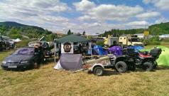Quad Genossen MKK: Lager beim Allradtreff auf der Offroad-Messe 'Abenteuer & Allrad' in Bad Kissingen 2014