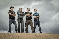 Quad Genossen MKK: Jojo, Ulli, Pille und Lucas