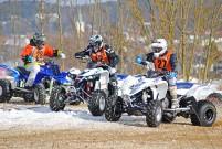 3. BHV Alpen Challenge Lauf 2015 am 8. Februar in Mainburg: rasante Starts, Kurvenduelle, Sprünge und so manch unfreiwillige Bruchlandung