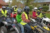 Benefiz Ausfahrten im Oktober 2015: Quadfahren für Kids am 11. Oktober in Meßstetten und am und 17. Oktober in Stuttgart