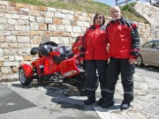 Spyder Großglockner Challenge 2015: Irven-Leroy und Marion ready for the ride