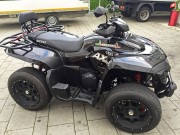 Access Modelle in Aktion: der Strassenfeger Access AX 750 EFI 4x4 Roadster