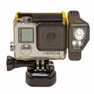 GoPro Akkus mit mehr Power: Seinen 'All Night' hat der Outdoor-Ausrüster Brunton mit einer Video-Leuchte ausgestattet, die 400 Lumen Leuchtkraft bietet