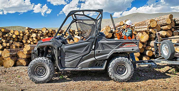 honda pioneer modelle 2016 atv quad magazin. Black Bedroom Furniture Sets. Home Design Ideas