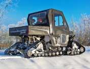 Maxim Track für Polaris Ranger: die neue Raupe von Mattracks lässt das Fahrzeug über den Schnee gleiten