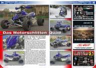 ATV&QUAD Magazin 2016/03-04, Seite 34-35, Präsentation Exeet Vario 580: Das Motorschlitten Quad