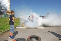 Quadtreffen am Atom-Reaktor 2016: Burnout