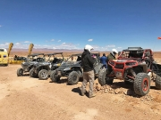 Tagebuch Tuareg Rallye 2017, Tag 8: Eble4x4-Team in the Middle of Nowhere am CP1 von Merzouga nach Midelt