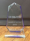 Polaris Dealer of the Year 2016: die Auszeichnung
