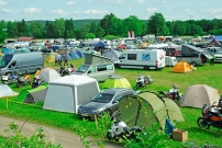 Touratech Travel Event: Campingarea