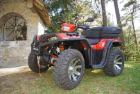Polaris-Spezialist Vonblon: Sportsman 1000 in Rot