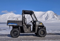 Polaris Ranger EV: praktisches Transportmittel