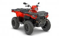 Polaris Sportsman 570 Modelle: in Indy Red