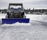 Polaris Original Winter-Zubehör: Polaris Glacier Plow System