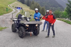 Vonblon: Rescue Sportsman für die Bergrettung Gries am Brenner auf Basis der Polaris Sportsman XP 1000