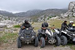 Auf Winnetous Spuren: auf ATVs durch die Karst-Landschaft in Dalmatien
